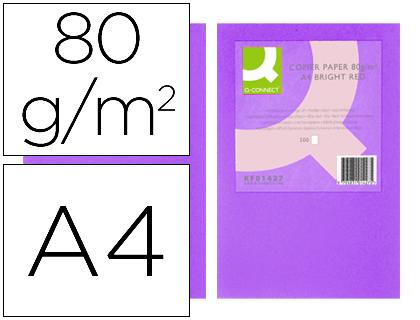 papel lila intenso A-4 paquete de 500 hojas