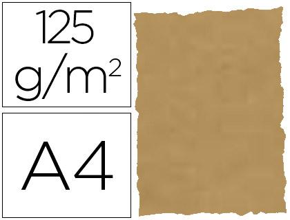 Papel pergamino piel elefante color pergamino A-4 25 hojas