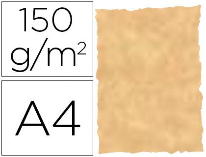 Papel pergamino Ocre Parchment A-4 25 hojas