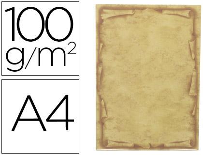 Papel pergamino Orla A-4 12 hojas