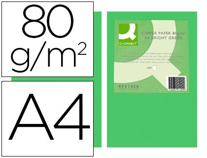papel verde intenso paquete de 500 hojas