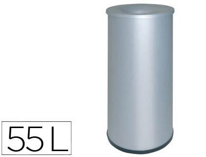 papelera metálica ignífuga