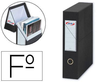 caja de transferencia revistero negro