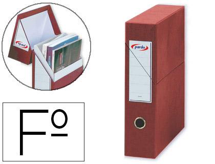 caja de transferencia revistero rojo