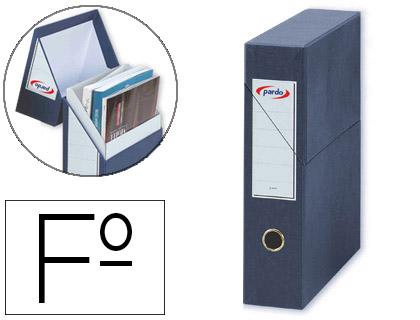caja de transferencia revistero azul