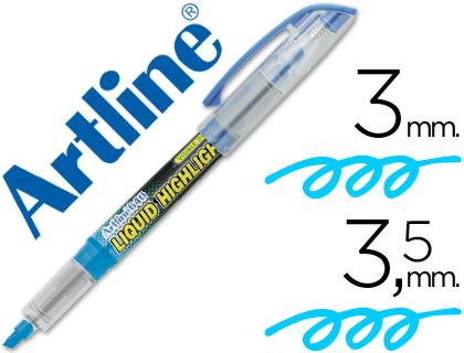 Rotulador fluorescente azul Artline