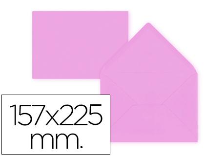 Sobre Lila de 157 x 225 mm. Solapa pico (pack de 9 unds)