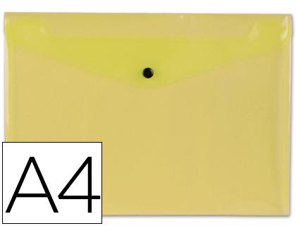 sobre de polipropileno amarillo
