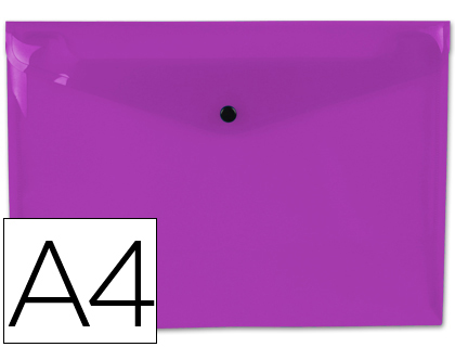 sobre de polipropileno violeta