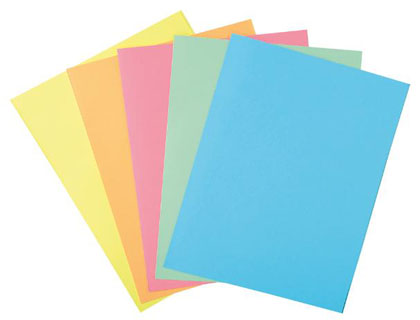 Subcarpetas colores pastel surtidos