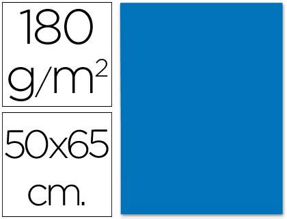 Cartulina azul turquesa de 50 x 65 cm (Pack 5 unds)