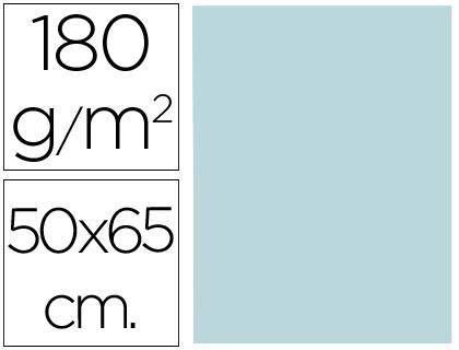 Cartulina azul de 50 x 65 cm (Pack 5 unds)
