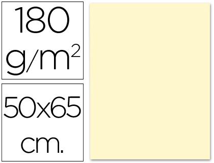 Cartulina crema de 50 x 65 cm (Pack 5 unds)