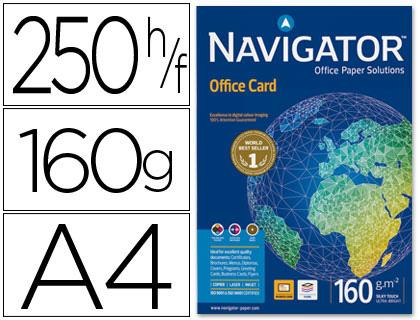 Papel 160 grs. A-4 Navigator 250 hojas