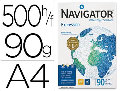 Papel A-4 Navigator 90 grs paqt. de 500 hojas- Loan Papelería