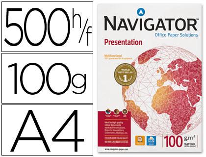 Papel de 100 grs. A-4 Navigator paqt de 500 hojas