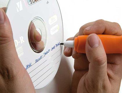 Rotuladores para CD