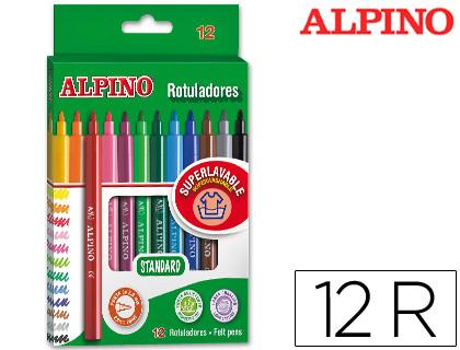 rotuladores escolares Alpino