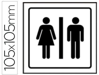 pictograma aseos señoras-caballeros
