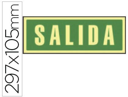 pictograma de SALIDA