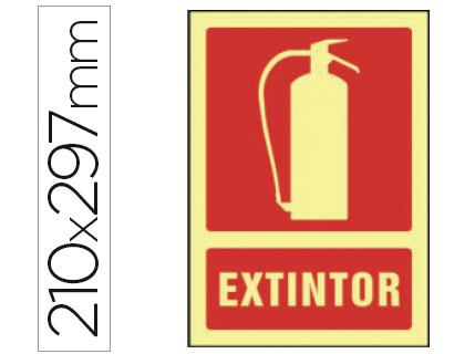 pictograma de extintor