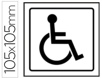 pictograma minusválidos