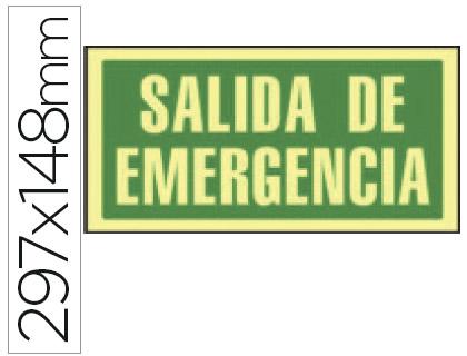 Pictograma de SALIDA DE EMERGENCIA