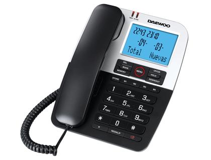 Tel fono de sobremesa para la oficina daewoo dtc 410 for La oficina telefono