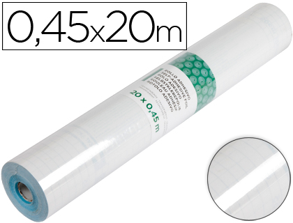 Rollo Aironfix color transparente brillo (0,45 x 20 m)