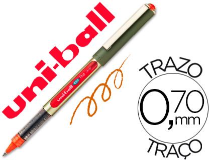 Bolígrafo Uni-Ball UB-157 Eye naranja