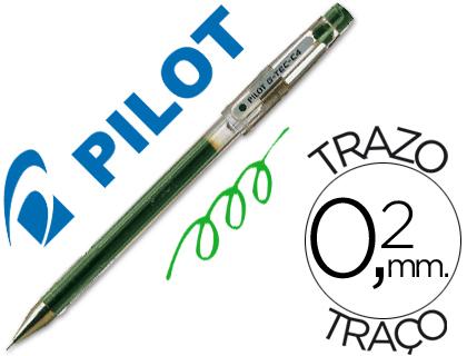 Bolígrafo Pilot G-TEC-C4 punta aguja verde