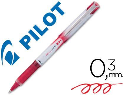 Bolígrafo Pilot V-Ball Grip rojo