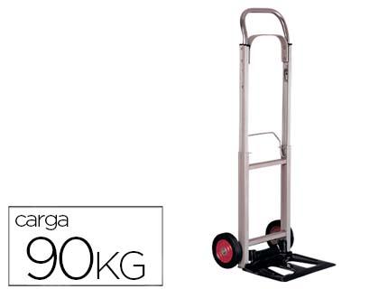 Carretilla de aluminio plegable 90 kg loan papeleria - Carretilla plegable aluminio ...