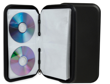 fichero para 48 cd con cremallera