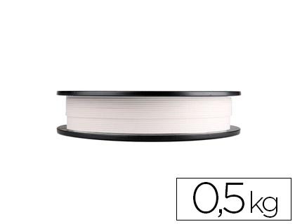 filamento 3d pla blanco