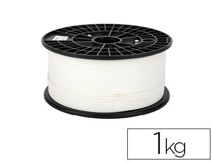 filamento impresora 3d blanco 1 kg