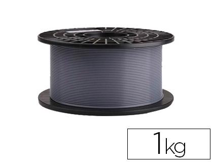 filamento impresora 3d gris 1 kg