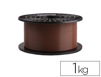 filamento impresora 3d marrón 1 kg