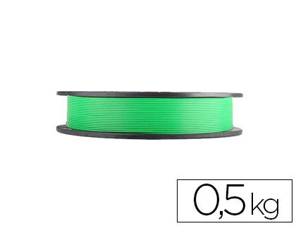 filamento impresora 3d verde