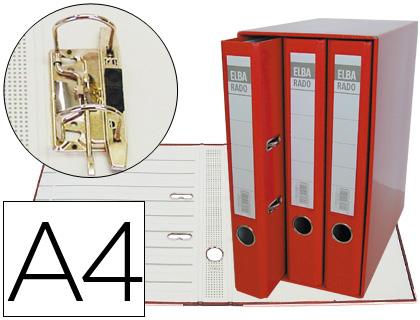 Módulo de 3 archivadores ELBA Din A4 color rojo