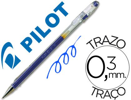 Bolígrafo Pilot G-1 tinta gel azul