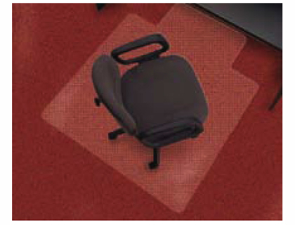 Protector de suelo para moquetas o alfombras loan papeleria - Protector de suelo para sillas ...