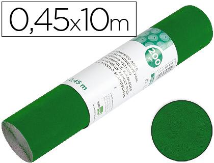 Rollo Aironfix de ante color verde (0,45 x 10 m)