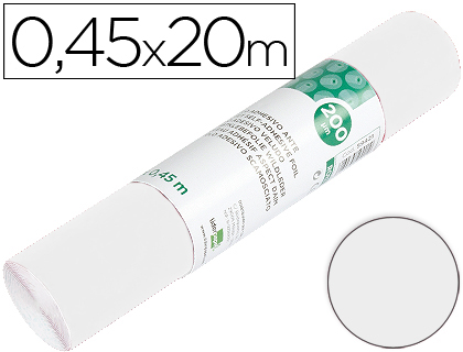 Rollo Aironfix color blanco brillo (0,45 x 20 m)