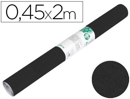 Rollo Aironfix de ante color negro (0,45 x 2 m)