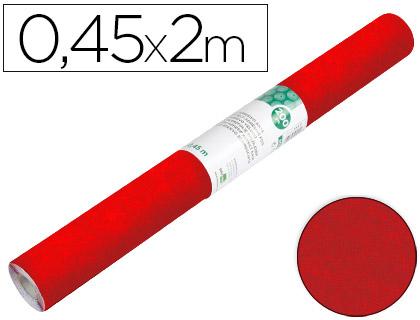 Rollo Aironfix de ante color rojo (0,45 x 2 m)