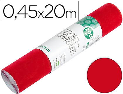 Rollo Aironfix color rojo brillo (0,45 x 20 m)