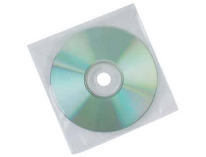 Sobre para CD/DVD polipropileno transparente (50 und.)