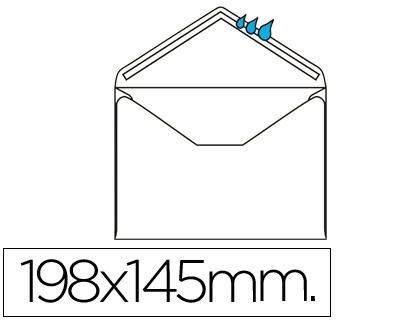 Sobre Oficio 145x198 mm engomado Caja de 250