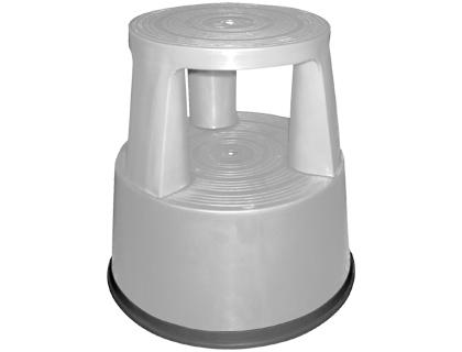 taburete de 2 niveles gris